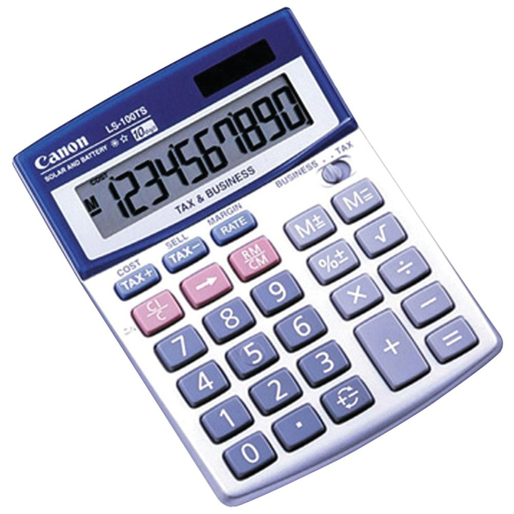 canon office products ls 100ts business calculator amazoncom stills office