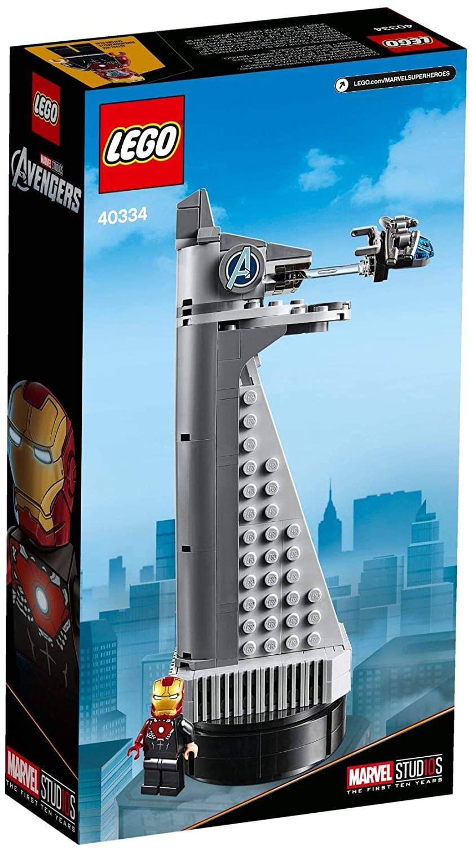 Lego Set 40334 Marvel Studios Avengers Tower EXCLUSIVE VIP RARE!