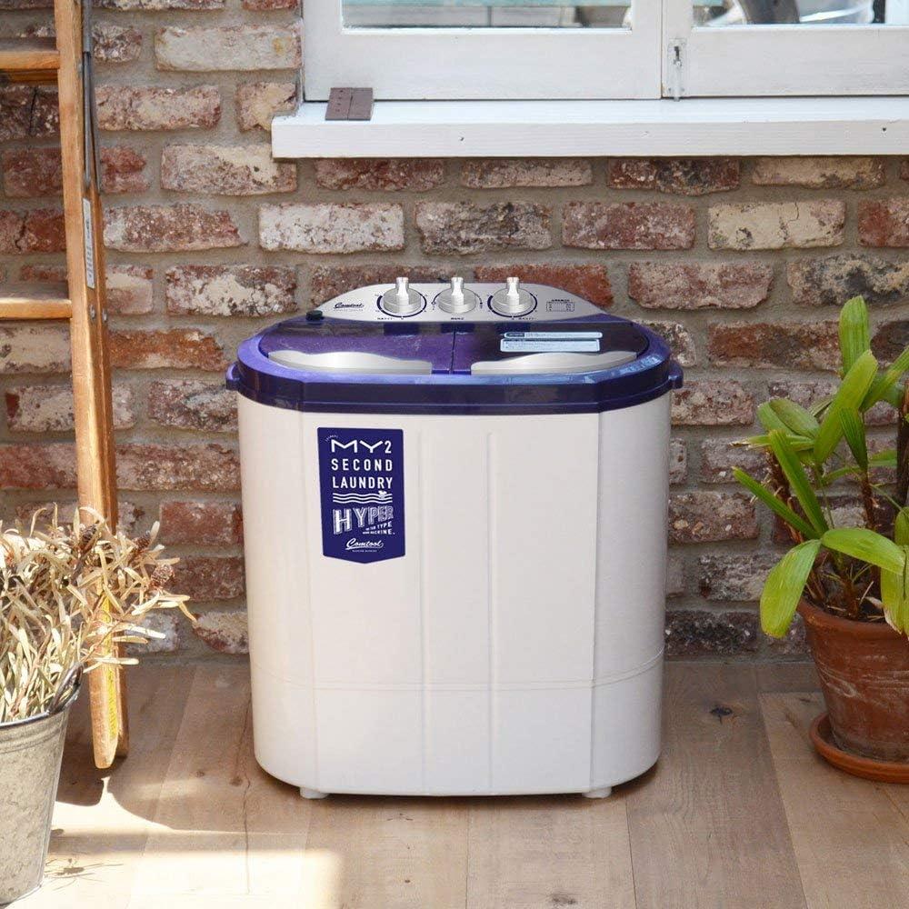 シービージャパン 洗濯機 ホワイト  小型 二層式 ステンレス脱水槽 マイセカンドランドリーハイパー comtool