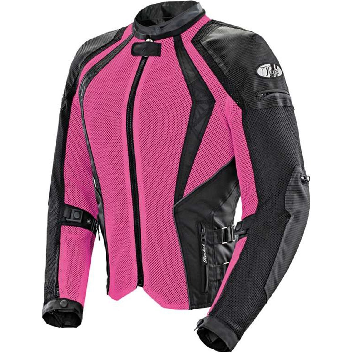 Joe Rocket Cleo Elite Womens Mesh Street Motorcycle Jacket Pink//Small 1653-0502-SU