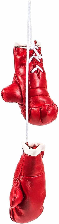 Mini Boxhandschuhe Witzig Sportliche Dekoration Rückspiegel Im Auto Kunstleder Schlicht Größe Ca 8 5 Cm Lieferbar In Den Farben Schwarz Oder Rot Rot Auto