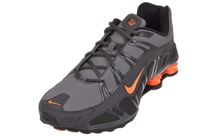 brand new 43c71 87dc3 Nike Shox Turbo 3.2 SL Mens Running Shoes, Dark Grey Total Orange -  Anthracite - Black, 6 M US  Amazon.co.uk  Shoes   Bags