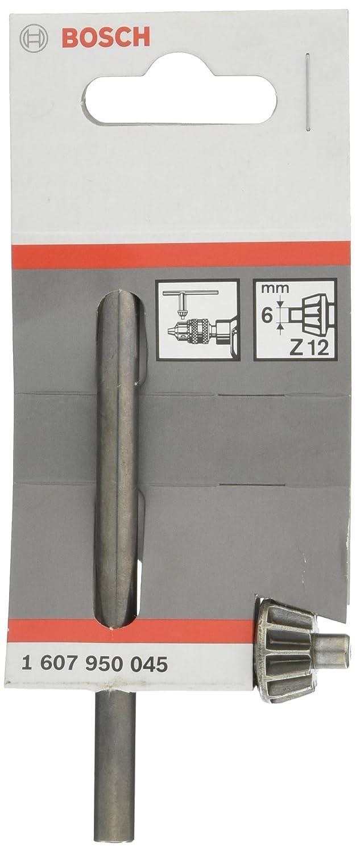 Bosch 1 607 950 045 - Llave de repuesto para el portabrocas de corona dentada - S2, D, 110 mm, 40 mm, 6 mm (pack de 1) 1607950045