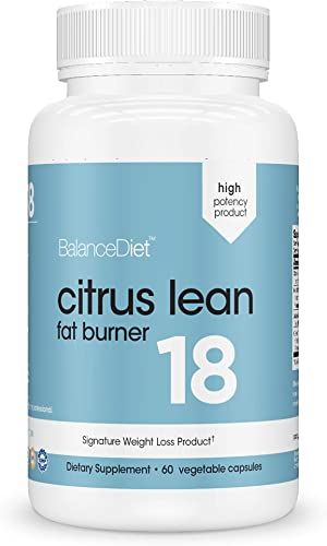 Citrus Lean Metabolic Enhancer by BalanceDiet Top Grade Product with Natural Citrus Leaf Extracts assists with Water Reduction 60 Count High Quality Natural Energy Enhancement