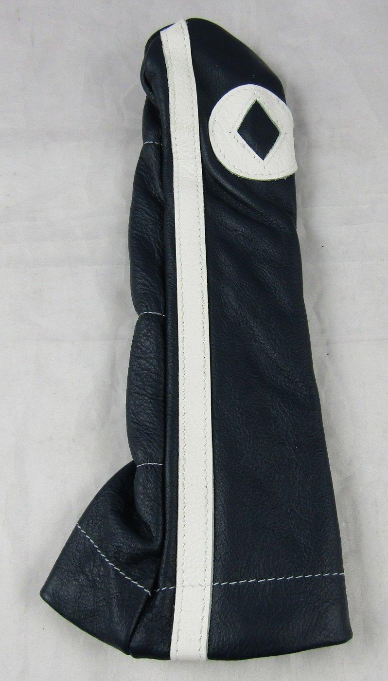 Stitch Golf Racer Clubレザーハイブリッドレスキュー用ヘッドカバーHDネイビーホワイトUSA B01MRX46ES