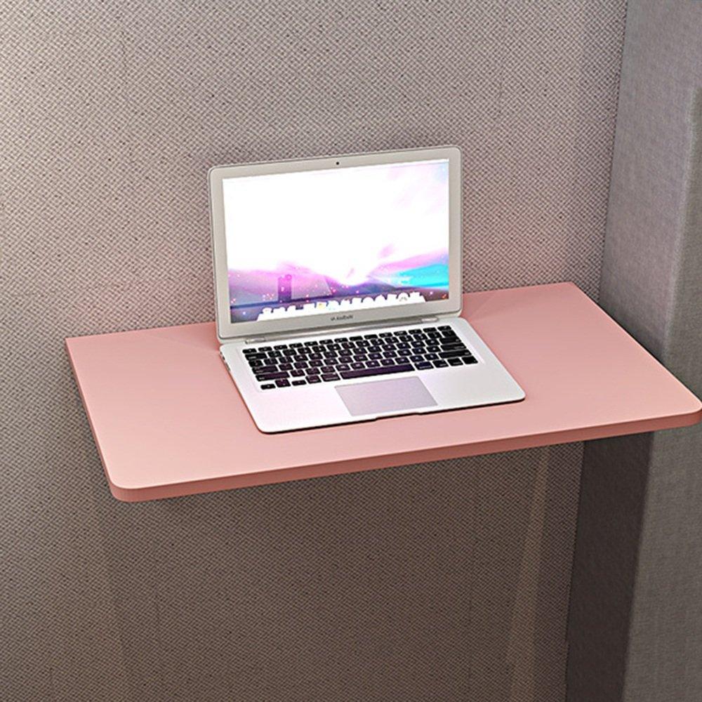 マチョン コンピュータデスク 小さなアパートの壁の壁のテーブルの壁のコンピュータデスク (色 : Pink, サイズ さいず : 60*40cm) B07F617XJJ 60*40cm|Pink Pink 60*40cm