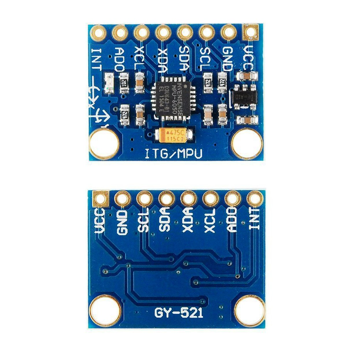 Makerfire Arduino Gy 521 Mpu 6050 Module 3 Axial Gyroscope Interfacing Tripleaxis Accelerometer With Atmega 16 Circuit Diagram Stance Tilt Industrial Scientific