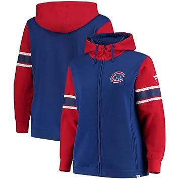 Chicago Cubs Fanatics - Sudadera con capucha para mujer (forro polar icónico, cremallera completa), color azul, Plus Large, Royal: Amazon.es: Deportes y ...