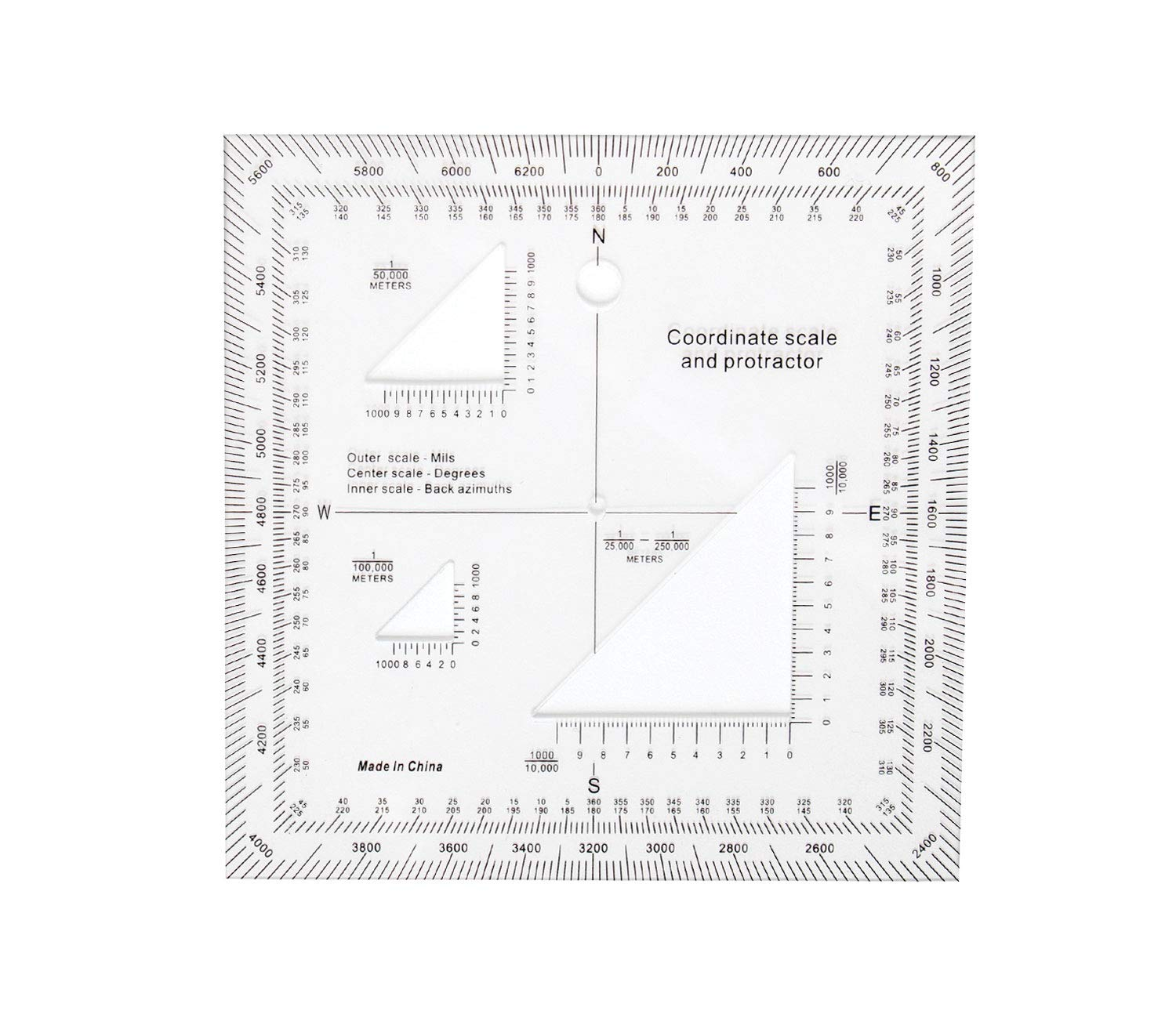Rothco Coordinate Scale Protractor by Rothco