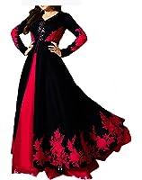 Royal Export Women's Dress (Mrrr_Black_Black_Free Size)