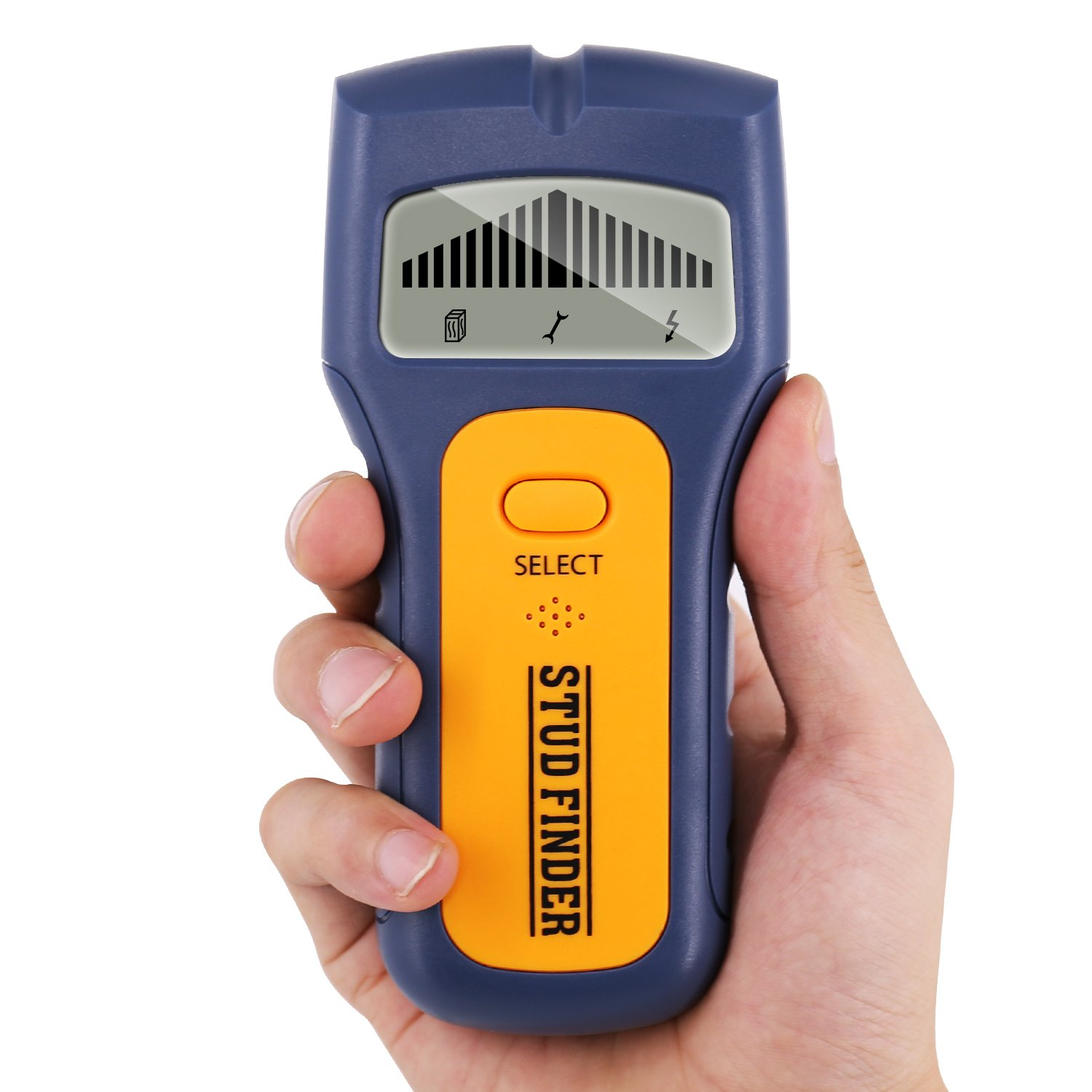 Electric Stud Finder, Multi Scanning Wall Sensor With Sound Warning For Wood Stud/AC Wire/Metal Detector