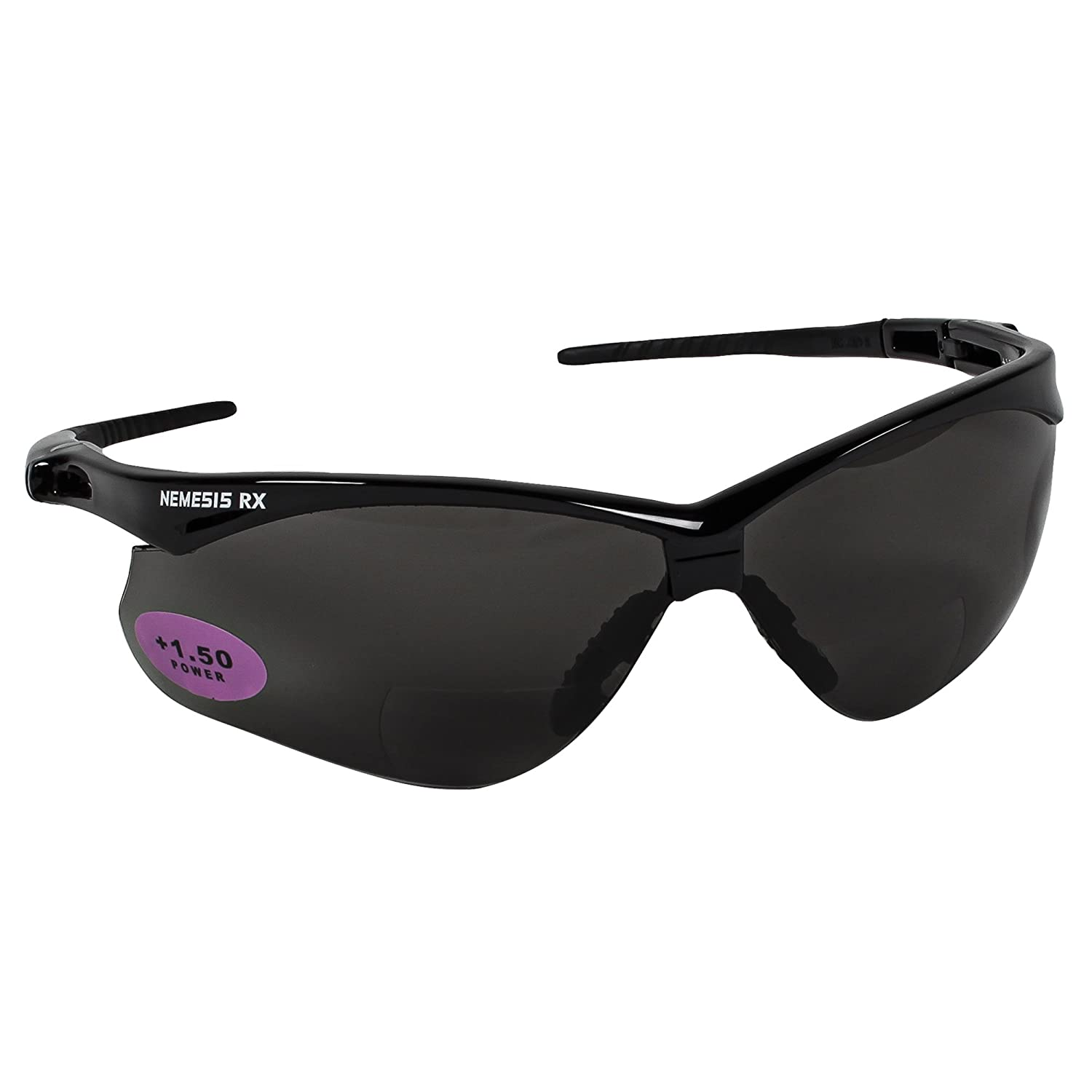 Jackson Safety 20382 V30 Nemesis CSA Safety Glasses, Blue Mirror Lenses with Black Frame (Pack of 12) by Jackson Safety B008D7ZOMQ