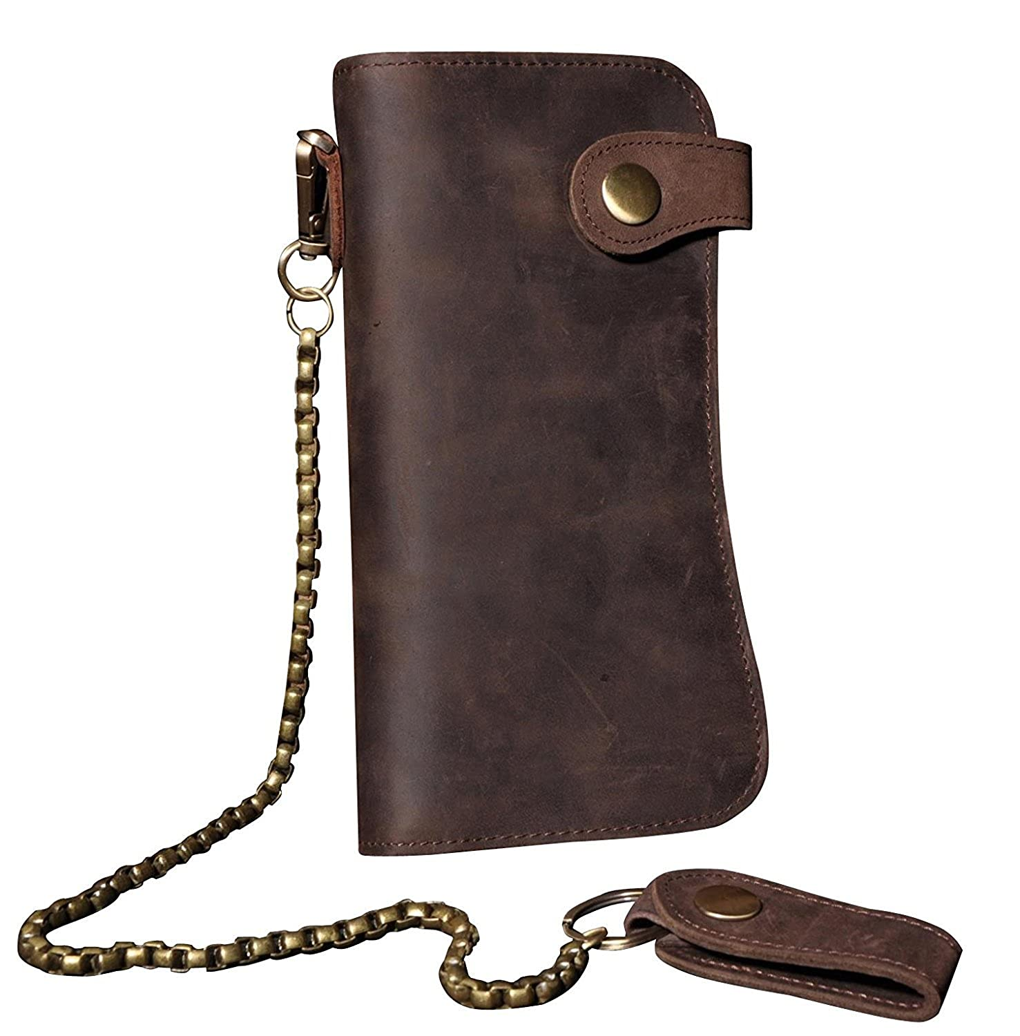 670a29b75009 The American Outdoorsman Woven Leather Mens Wallet Herren-Accessoires