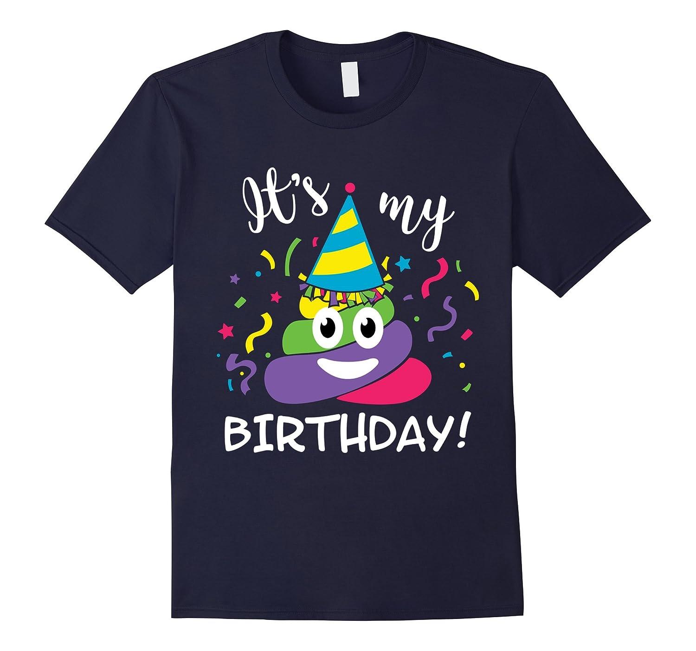 Rainbow Poop Emoji Birthday
