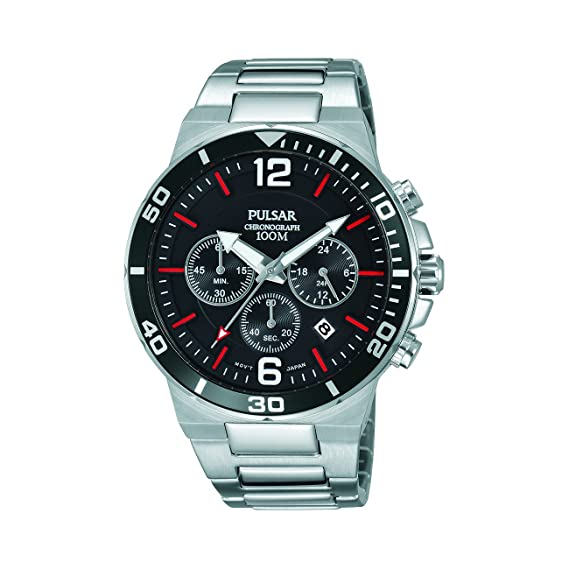 Pulsar PT3797X1 - Reloj cronógrafo para Hombre (Acero Inoxidable)