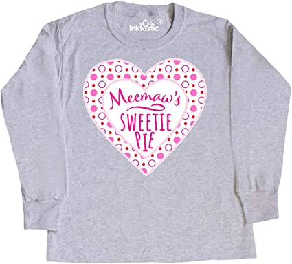 inktastic I Have My Meemaw Under My Spell with Cute Witch Hat Baby T-Shirt