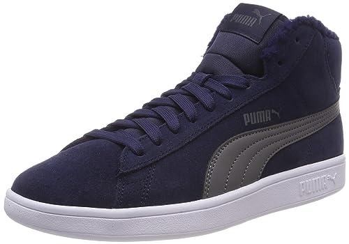 Puma Smash V2 Mid Fur Jr, Zapatillas Altas Unisex para Niños: Amazon.es: Zapatos y complementos