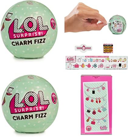 Series 3 Lol Surprise Charm Fizz Balls Lot Of 6