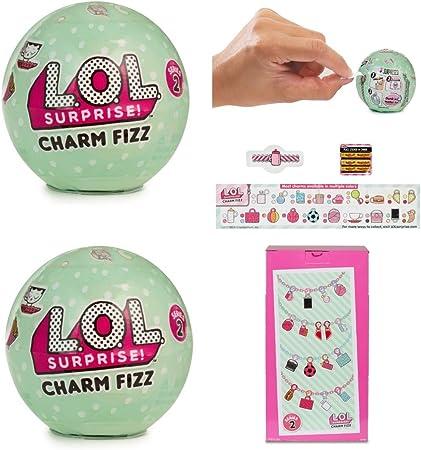 Series 3 Lol Surprise Charm Fizz Balls Lot Of 6