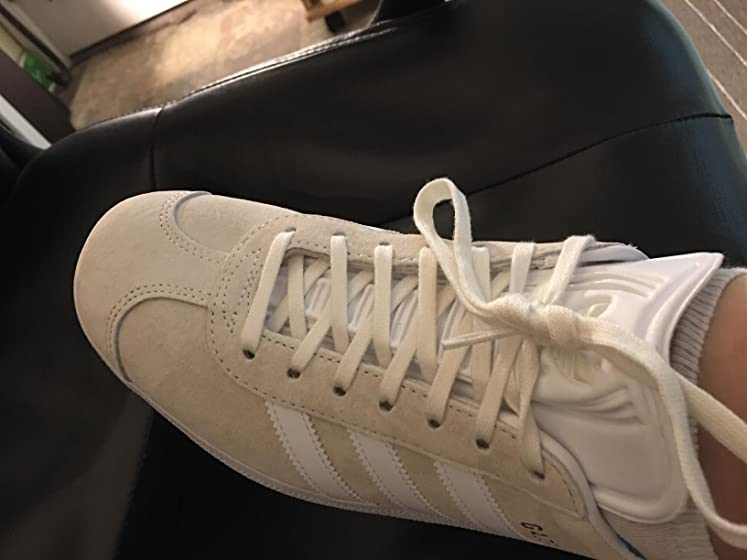 adidas Originals Women's Gazelle Sneakers Workmanship sucks!