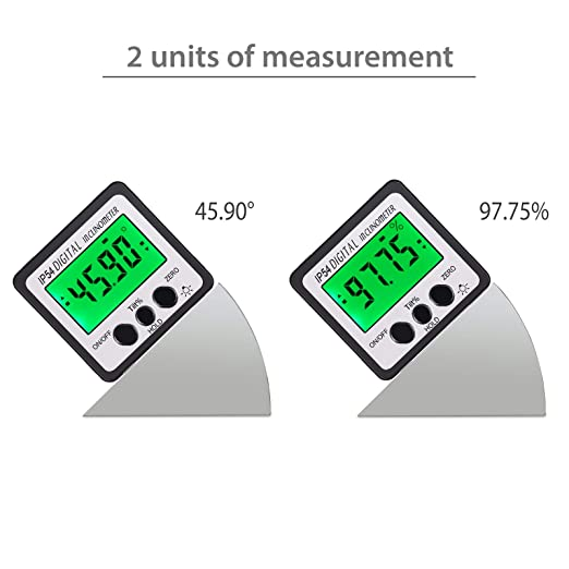 Digital Angle Gauge Level Digital Angle Finder with Battery Screwdriver LCD  Digital Angle Protractor with Magnetic Base for Woodwork Automobile