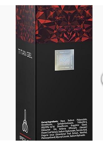 titan gel männliche penis vergrößerungs creme 50ml amazon de sport