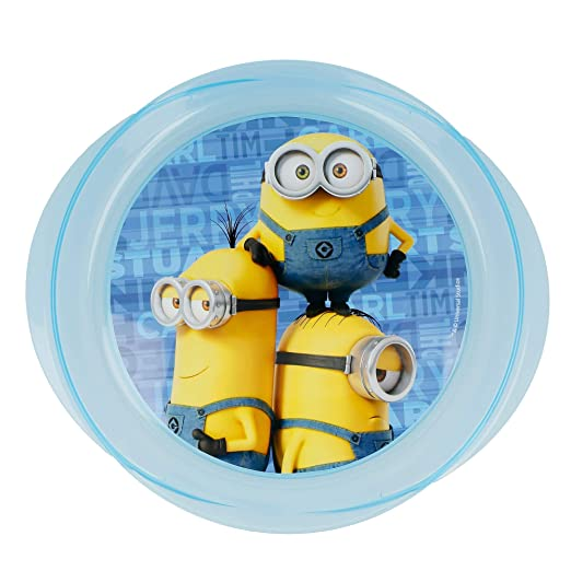 PLATO MICRO EASY MINIONS RULES: Amazon.es: Hogar