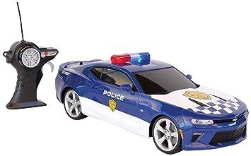 Tavitoys 81272p Chevrolet Camaro Coche De Policia Con Radio Control
