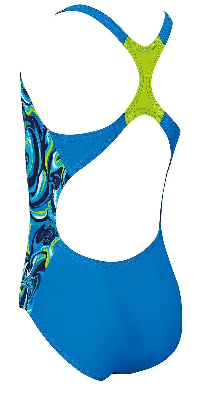 Zoggs Tie marmorizzazione Rowleeback Swimsuit