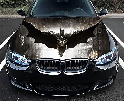 car hood wrap  Amazon.com: Superhero Batman Full Color Sticker, Car Hood Vinyl ...