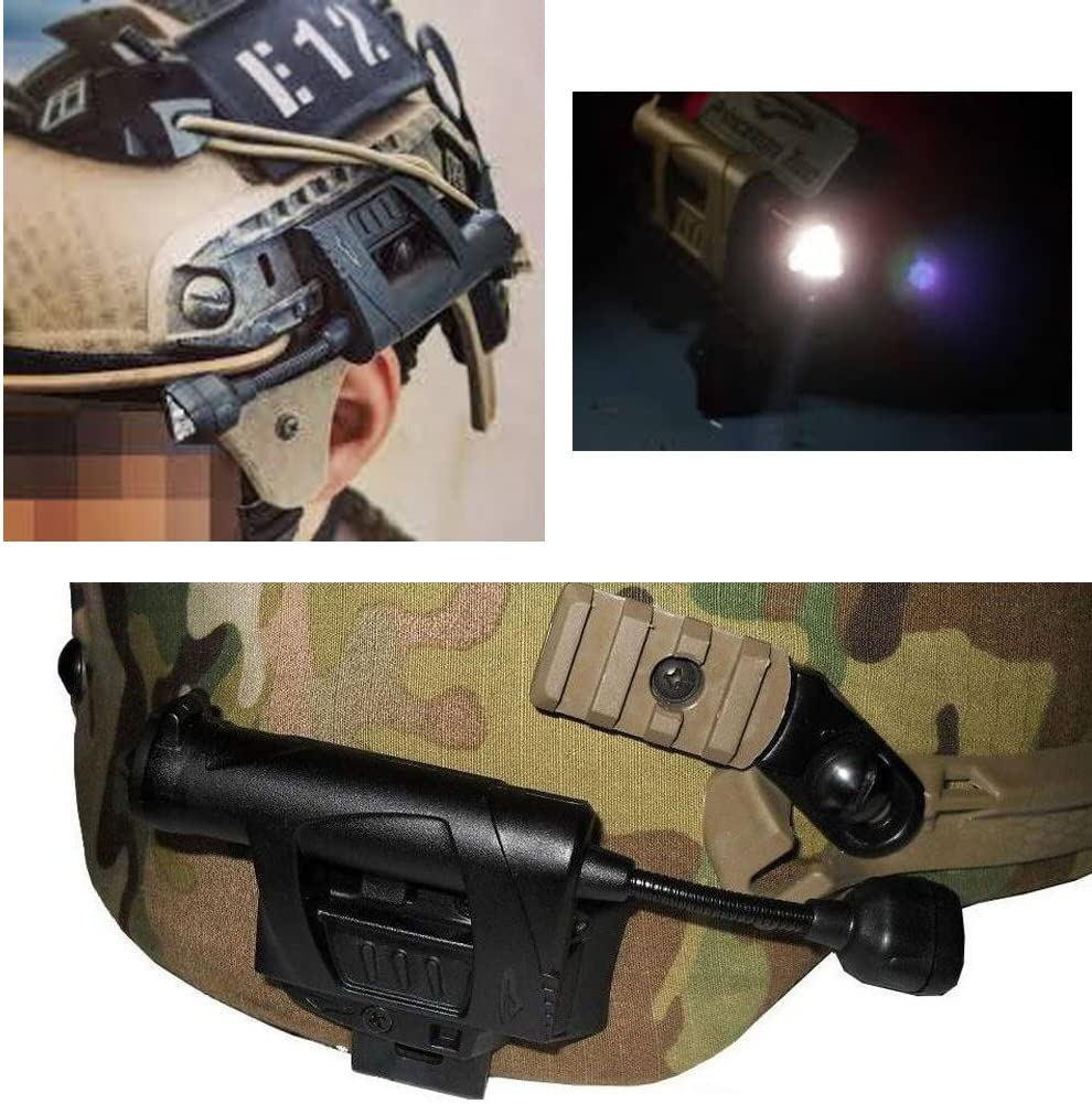 Night Evolution Charge MPLS Tactical Helmet Light Airsoft Military Hunting light