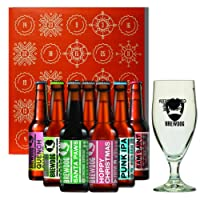Brewdog Christmas Craft Beer Advent Calendar Gift Set With Official Glass