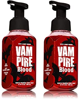 bath and body works halloween vampire blood 2017 foaming hand soap 2 pack