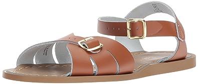 8dd45e6d03464 Salt Water Sandals by Hoy Shoe Girls' Salt Water Classic Flat Sandal, Tan,