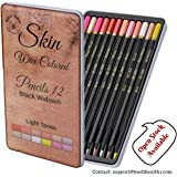Light Skin Colored Pencils | Portrait Pencil Set | Colored Pencil for adults | Skintone Artist Pencils