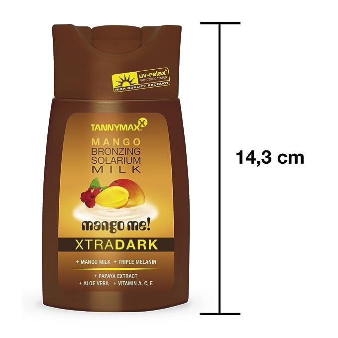 Tannymaxx mango Me Xtra mango oscuro Bronzing solárium leche tumbona acelerador de bronceado crema 50 ml: Amazon.es: Belleza