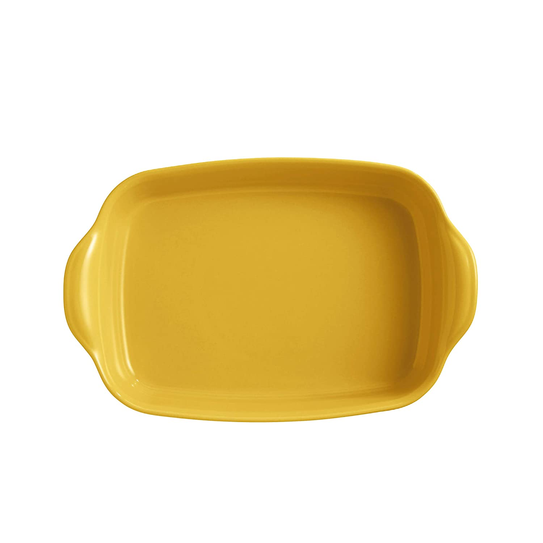 Provence Yellow rectangular baking dish, Emile Henry EH909652 Medium Oven