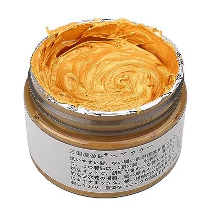 attachmenttou Tinte temporal del pelo crema gris de la astilla de cera de barro no tóxico estilo de pelo teñido del cabe: Amazon.es: Salud y cuidado ...