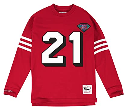 outlet store a05c4 e62b7 Amazon.com : Mitchell & Ness Deion Sanders San Francisco ...