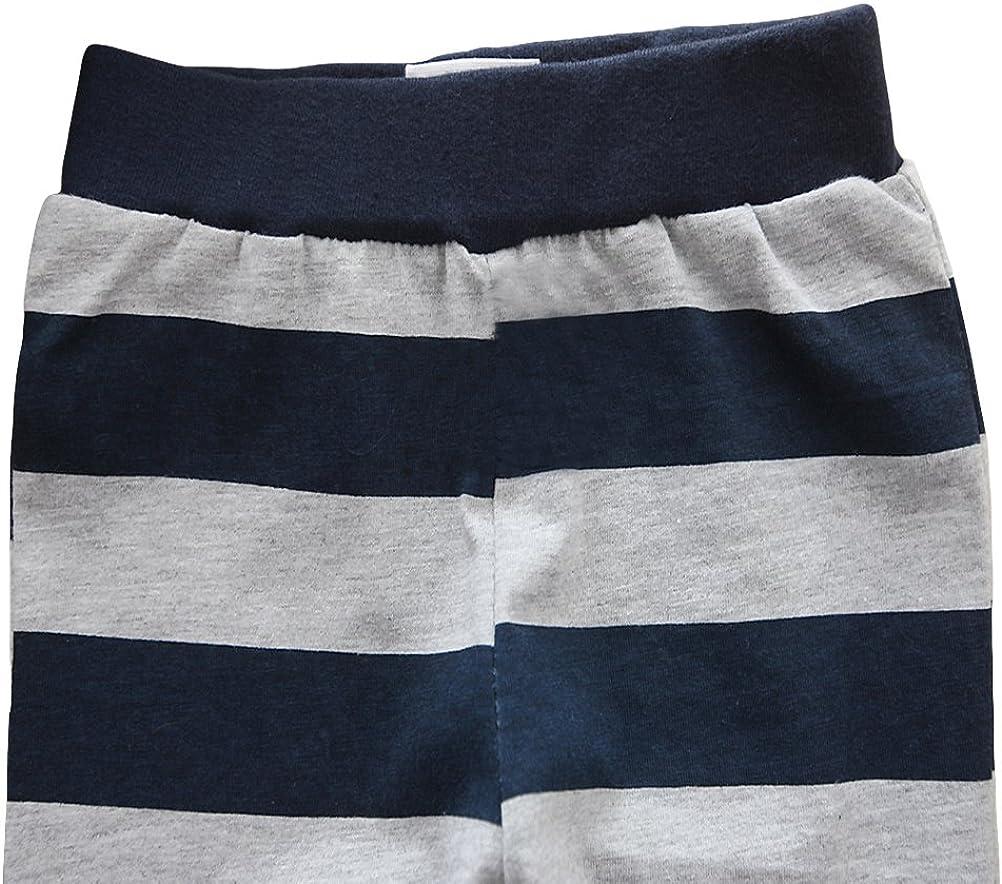 Toddler Baby Boy Girl Pajama Set 2 Pcs Cotton Shirt/&Pants Sets 1-6t Kid