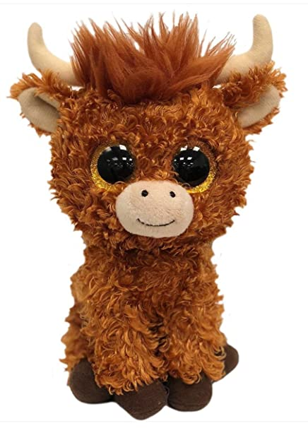 Amazon.com  TY Beanie Boo - Angus the Highland Cow - Limited Edition   Garden   Outdoor 81062e94f31e