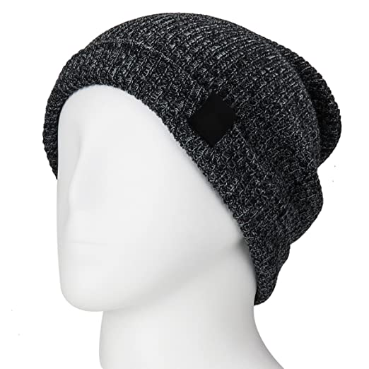 4a1449a2da0 BS Winter Knit Slouchy Beanie Hat Daily Warm Ski Skull Cap Wool Type Hat  For Both