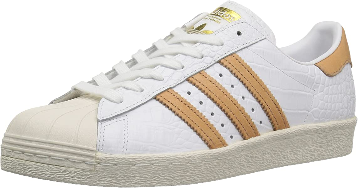brand new b3f76 458df adidas Originals Men s Superstar 80s (5 D(M) US, Ftwwht,ftwwht