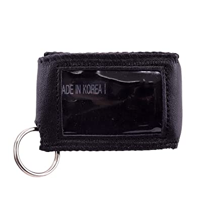 Universal Leather Case Cover with Side for Car Truck Auto Remote Smart Key Fob: Car Electronics