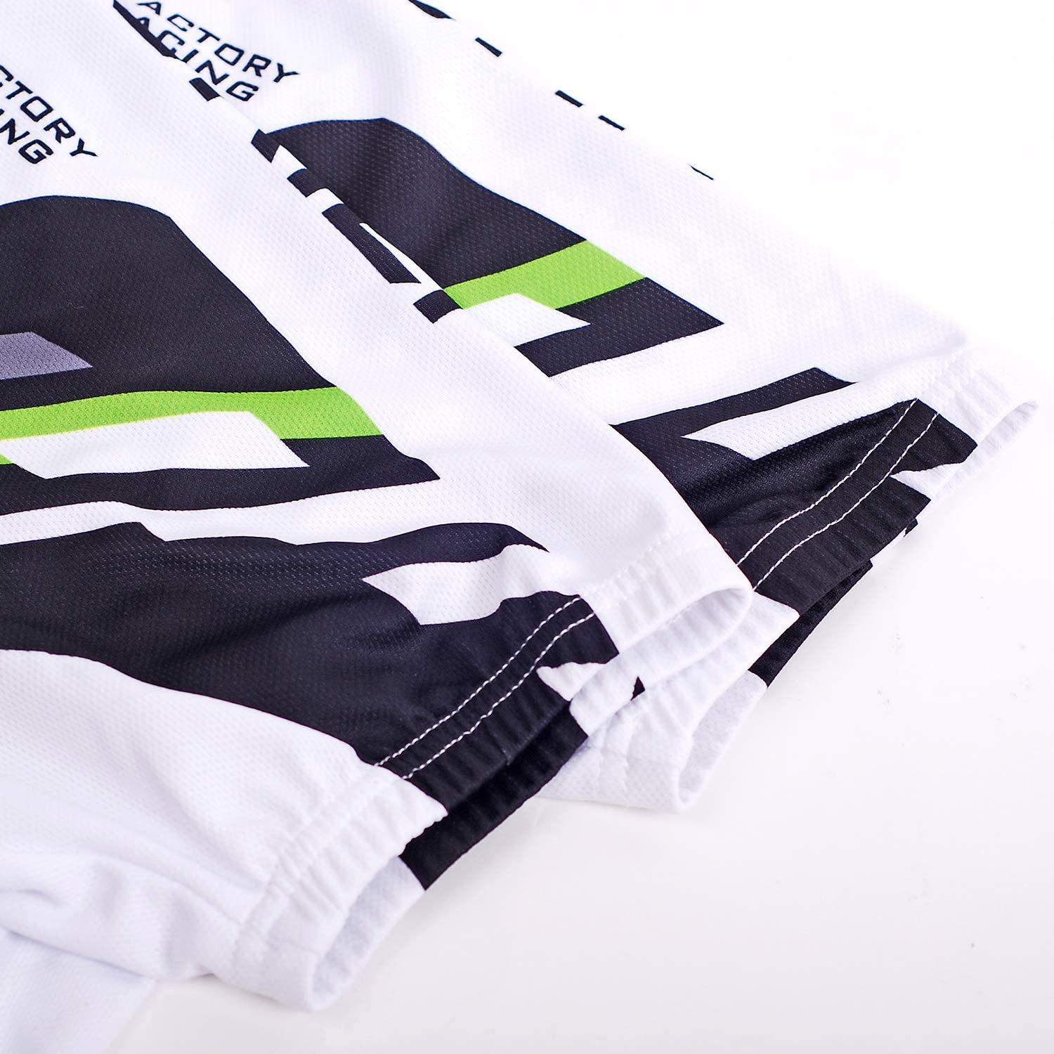 NUCKILY Sports Mens Cycling Jersey Short Sleeve Bike Bicycle Shirt Quick Dry Running Tops with 3 Rear Pockets