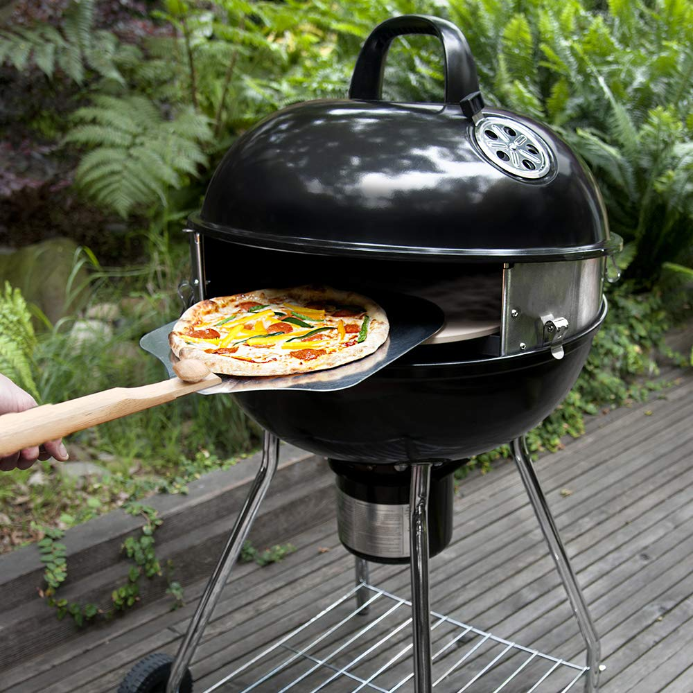 Pizzacraft PC7001 PizzaQue Deluxe Outdoor Pizza Oven Kettle Grill Conversion Kit by Pizzacraft