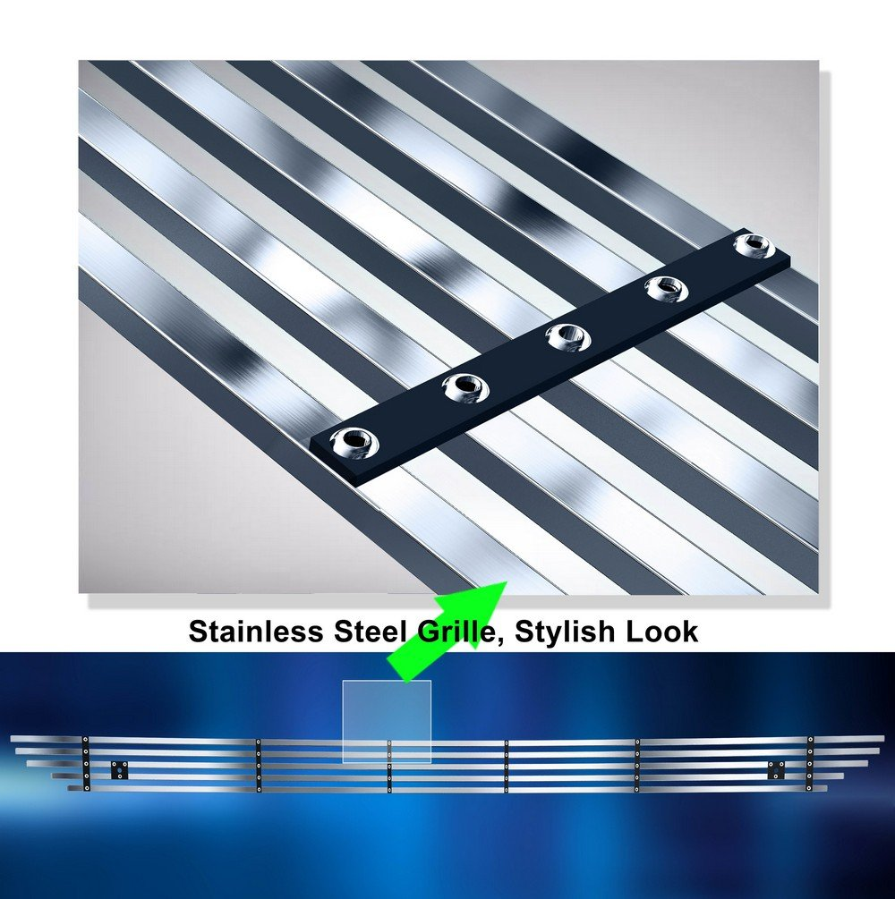 Off Roader eGrille Stainless Steel Billet Grille Grill Fits 03-06 Toyota Tundra