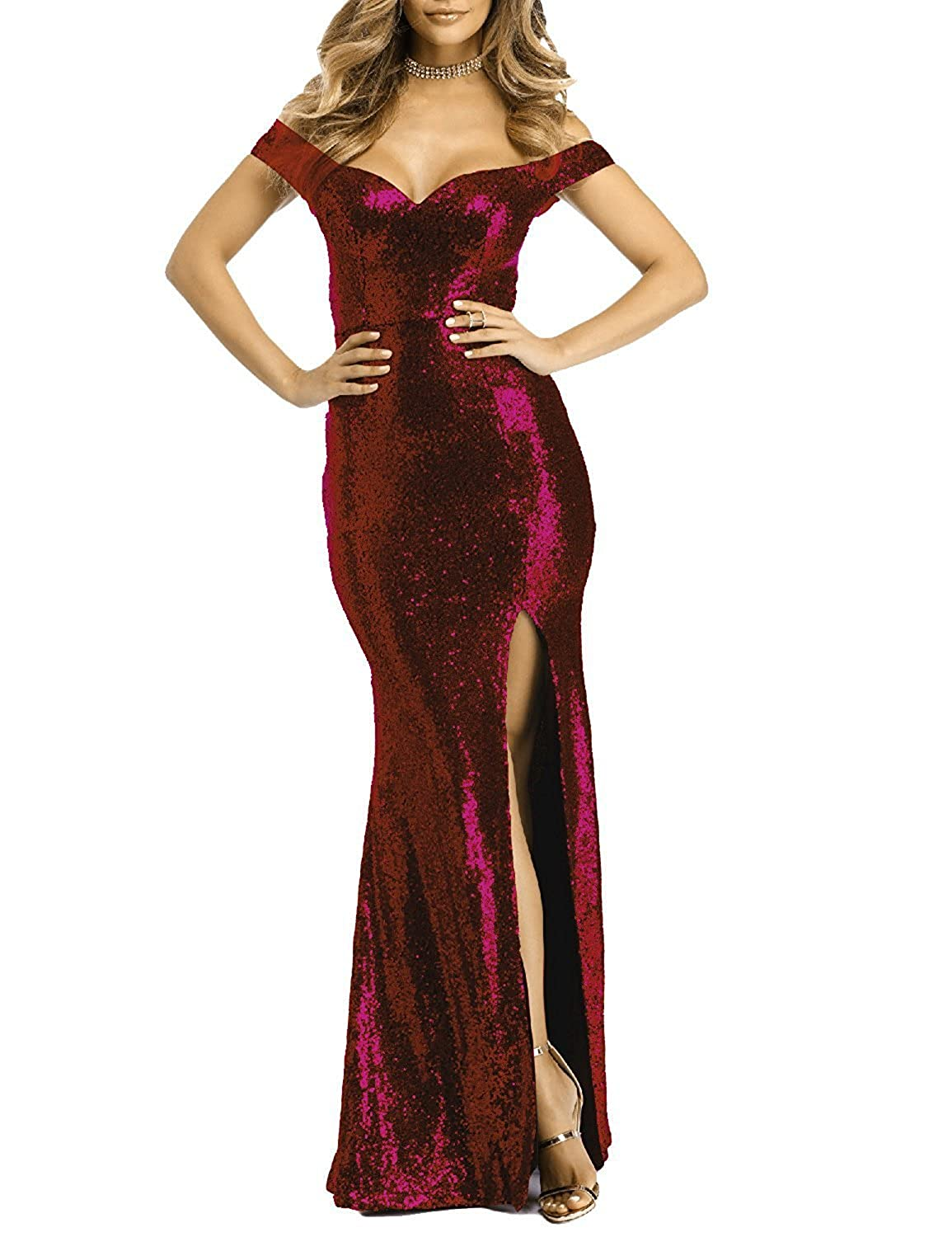 Burgundy Monalia Women's Cap Sleeves Prom Dresses 2017 Long Evening Party Gown P061