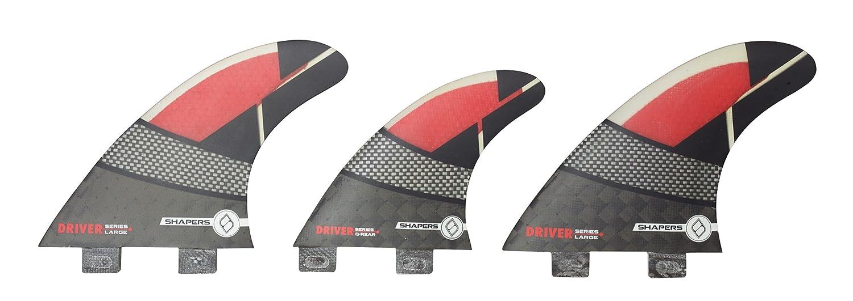 【全商品オープニング価格 特別価格】 Shapers FCS Fins カーボンスペクトラム (Large) ドライバーシリーズ 6フィンセット Fins B01LZS1CK2 Red (Large) FCS, コーヒー豆 焙煎即日発送田代珈琲:37533f00 --- svecha37.ru