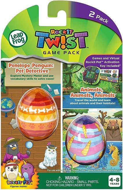 NEW- Leap Frog Rock It Twist 6 Game Bundle! 2 activation key packs games 3